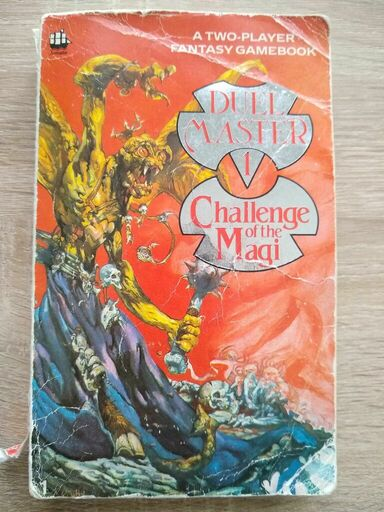 Duelmaster: Challenge of the Magi book cover