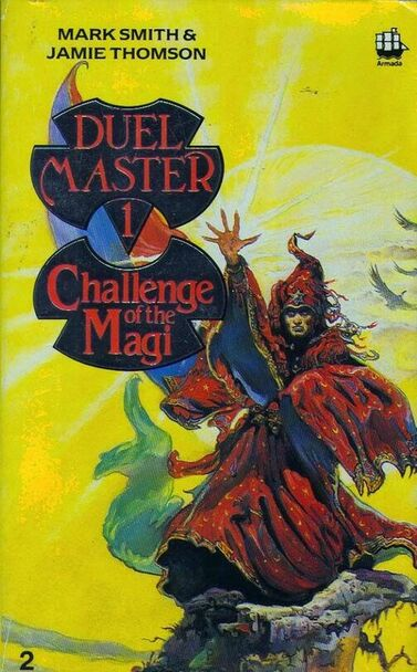 Duelmaster: Challenge of the Magi companion book cover